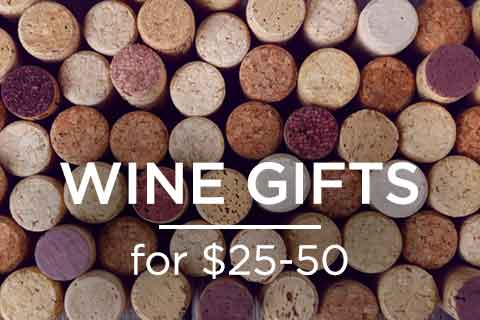 Wine Gifts for $25 - $50