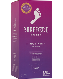 Barefoot On Tap Pinot Noir