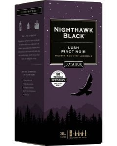 Bota Box Nighthawk Black Lush Pinot Noir