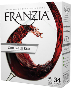 Franzia House Favorites Chillable Red